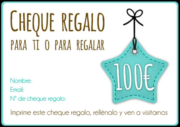 CHEQUE REGALO 100€