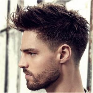 degradado con cabello ondulado